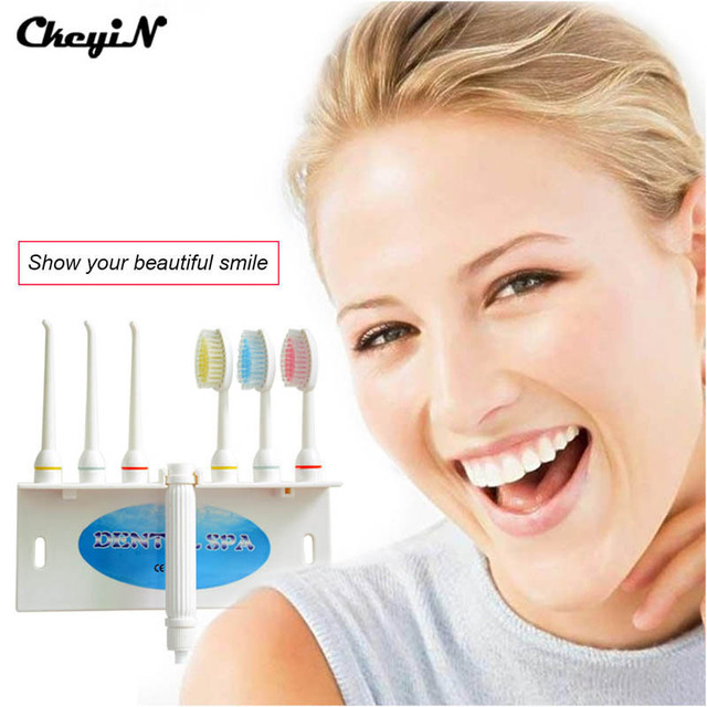 CkeyiN New Noiseless Dental Water Floss Oral Irrigator Dental SPA Water Cleaner Tooth Flosser Cleaning Oral Gum Dental Care Jet