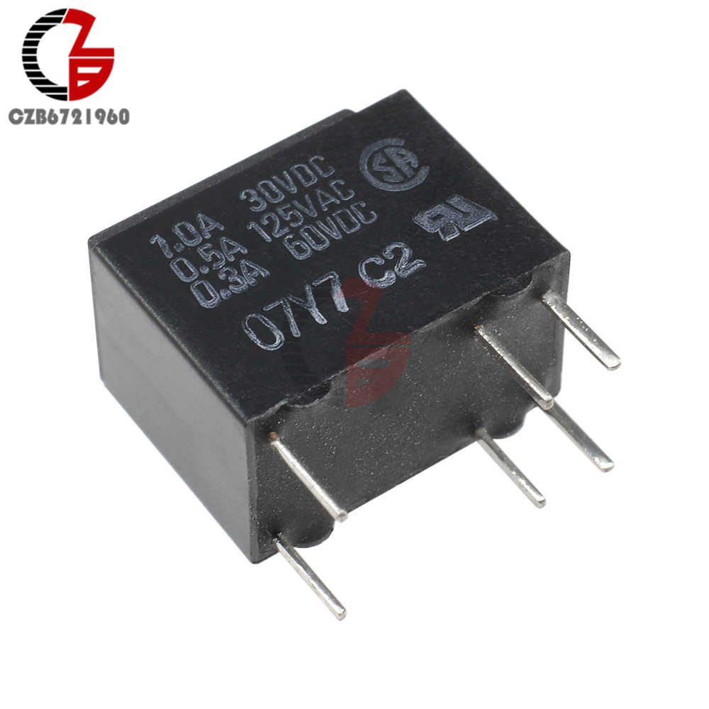 small resolution of g5v 1 5v dc 5v signal relay ultra miniature highly sensitive spdt relay