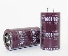 Бесплатная Доставка 10 шт. 1000 мкФ 450 В 35*50 мм DIP 1000 мкФ 450 В Алюминий электролитический конденсатор