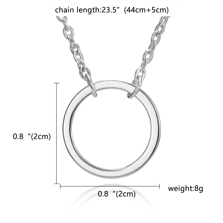 Модные золотые ожерелья и кулоны для женщин, ювелирные изделия - Окраска металла: 10