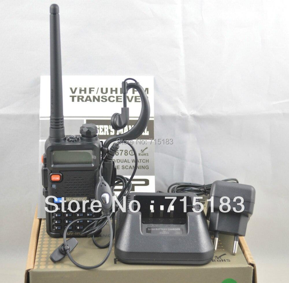 Baofeng UV-5R UHF + VHF 5 W 128CH CB station de Radio Original Baofeng uv5r double bande talkie-walkie