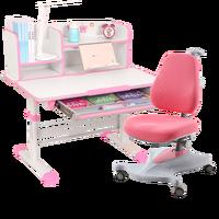 Детский комплект столы и стулья бытовой исследования письменный стол поднял Комбинации Регулируемый корректирующие сидя кресло для выпра