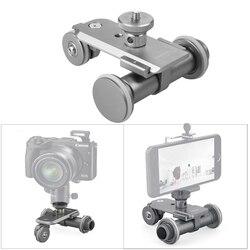 Motorized Camera Sliders Electric Dolly Track Rail Systems for Canon Nikon DSLR Camera Smartphone Adjustable Rail Track Slider