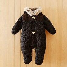11. 11 vente! nouvelle arrivée hiver bébé barboteuses France marque bébé d'hiver manteau top qualité bébé outwear hiver bébé vêtements