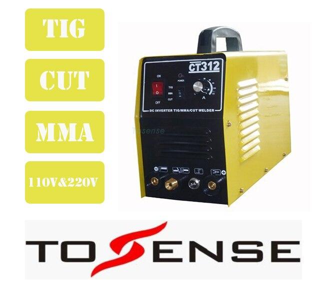 3 In 1 Multifunction Welding Machine TIG ARC Welder Plasma Cutter 110V 220V Free Accessorry Free Shipping  цены