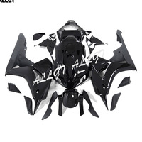 Motorcycle Aftermarket ABS Injection Mold Glossy Black Plastic Fairing Kits Fit for Honda CBR1000RR 2006 2007 CBR1000 RR 06 07