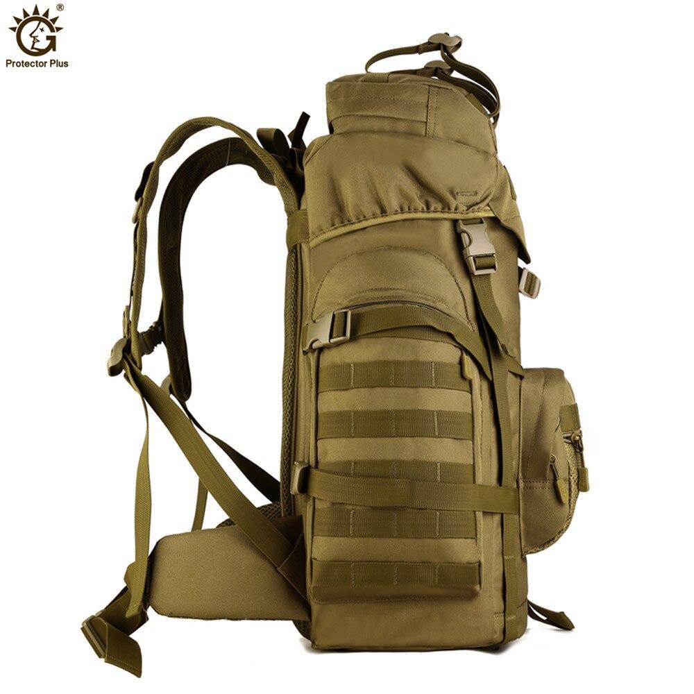 60L Molle haute capacité hommes tactiques militaires sac à dos femmes imperméable Camp randonnée sac sacs à dos sacs à dos armée sac G120-in Sacs à dos from Baggages et sacs    3