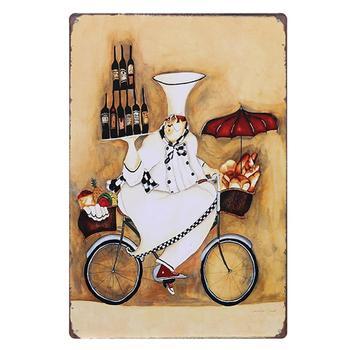 Vino Retro signo cafetería decoración Metal lata signos casa restaurante Bar cartel Vintage lata pintura 20*30 CM