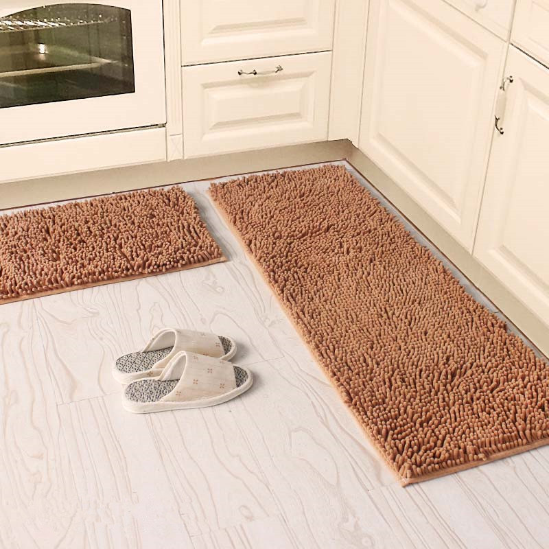 antislip kitchen mat absorb water bathroom carpet home entrance doormat soft chenille cloakroom area rug