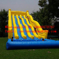 (China Guangzhou) inflatable slides,Castle slides Inflatable water slide BYSW 145