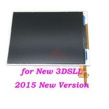Puxado 2015 nova versão para nintendo nova 3ds xl ll inferior tela lcd original para n3dsxl