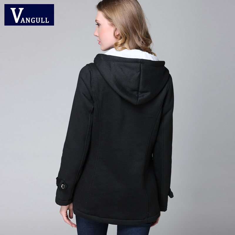 Vangull New Fashion Warm Winter Coat Women Thick Plus Size Hooded - Women's Clothing - Photo 6