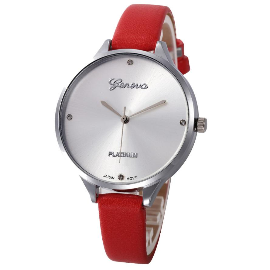 Timezone #401 Duobla brand Women watch Casual Checkers Faux Leather Quartz Analog Wrist WatchTimezone #401 Duobla brand Women watch Casual Checkers Faux Leather Quartz Analog Wrist Watch