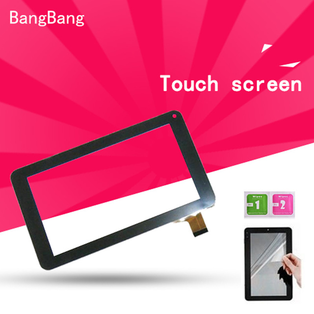 7 inch Black Touch Screen panel with Digitizer For Irbis TZ02/TZ01 Tablet LCDs & Panels + Screen Protector Film