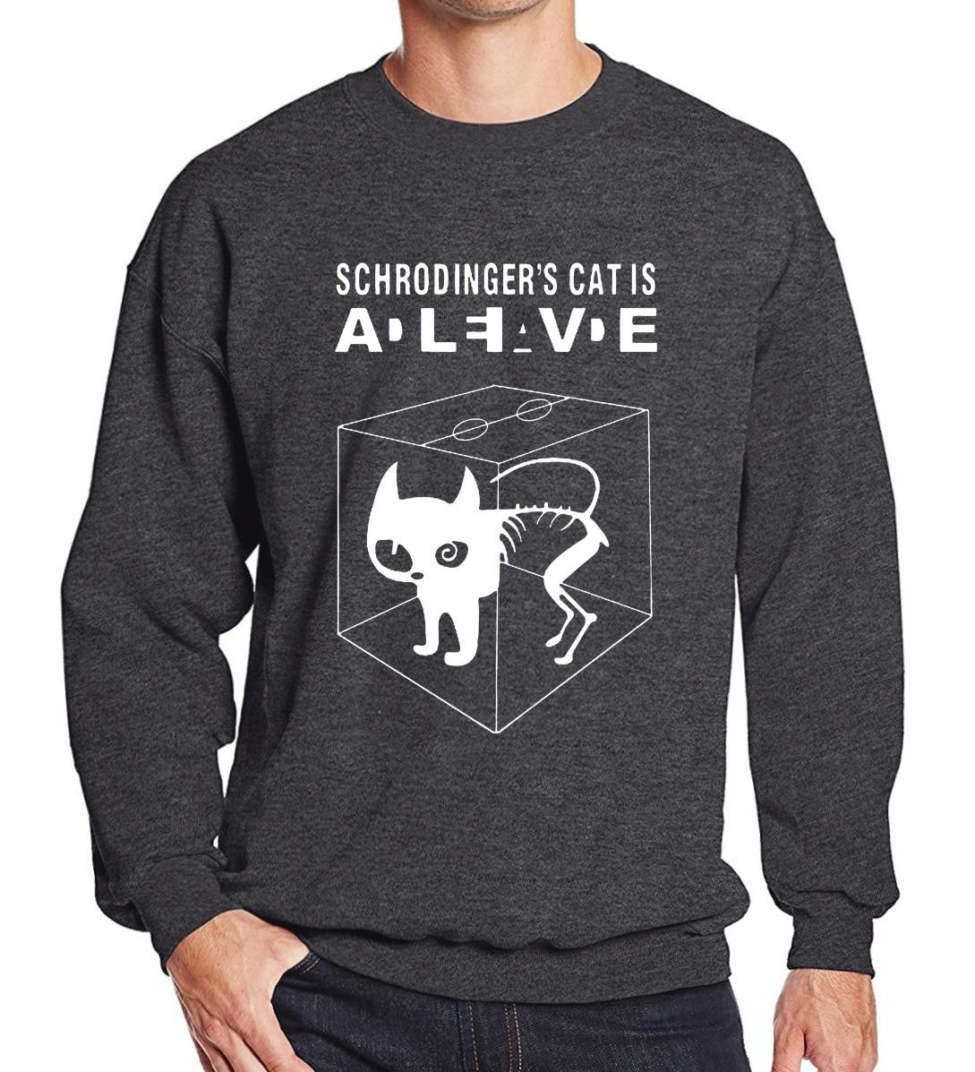 The Schrodinger's Cat 2019 autumn winter casual sweatshirt hoodies men tracksuit harajuku brand Big Bang Theory pullovers S-XXL
