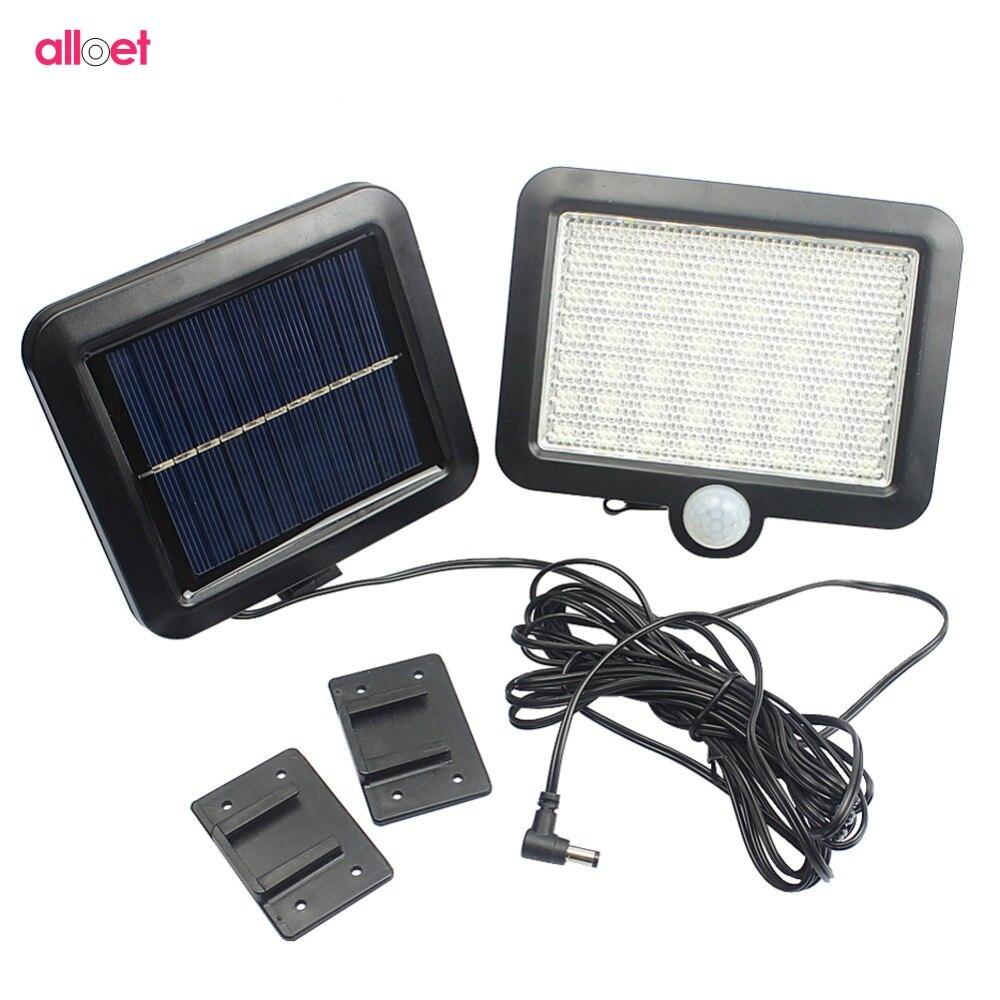 56 LED Solar Light PIR Motion Sensor Detection Wall Lamp Energy-saving Lights Waterproof Outdoor Garden Floodlights Spotlights цена
