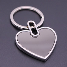 Buy keychain business cards and get free shipping on aliexpress creative personality metal love heart shaped stainless steel business card keychain charm key chain good colourmoves