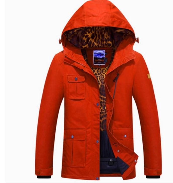 livraison gratuite d1473 07ca2 € 133.05 |2017 femmes vin rouge veste de ski femme multi poche snowboard  ski vestes hiver extérieur imperméable vêtements de sport skiwear dans Ski  ...