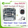 1080P 2.1MP Starlight Supper low Illumination colorful Night Vision Image Sony IMX291 Sensor IP Network Camera Module, Onvif