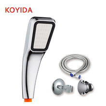 KOYIDA Ducha 300 Hole Shower Head Handheld ABS Chrome Square Pressurized Water Saving Bath Shower bathroom fixture Shower Hose