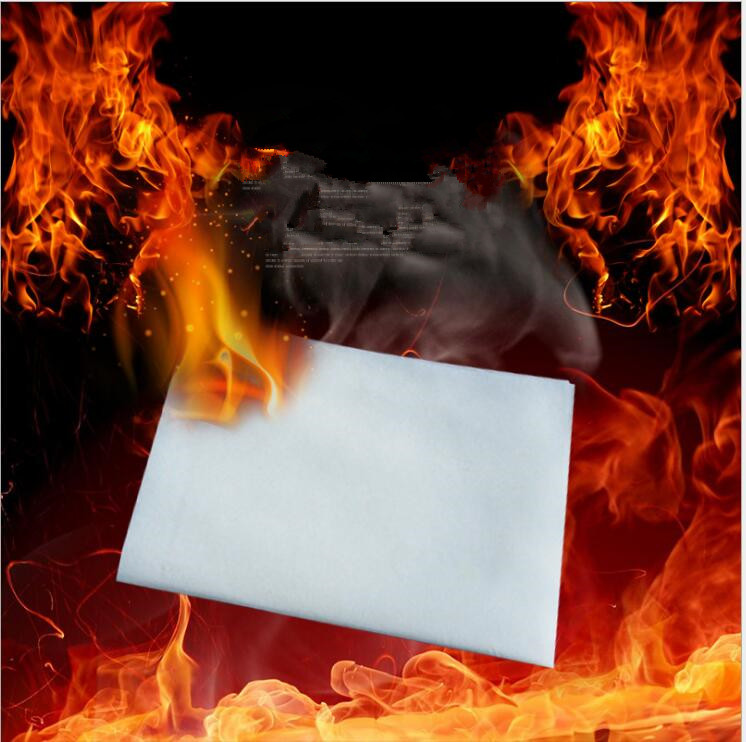FUN 10pcs 25x20cm Touch paper for magic tricks Not the least trace was found Smoke free