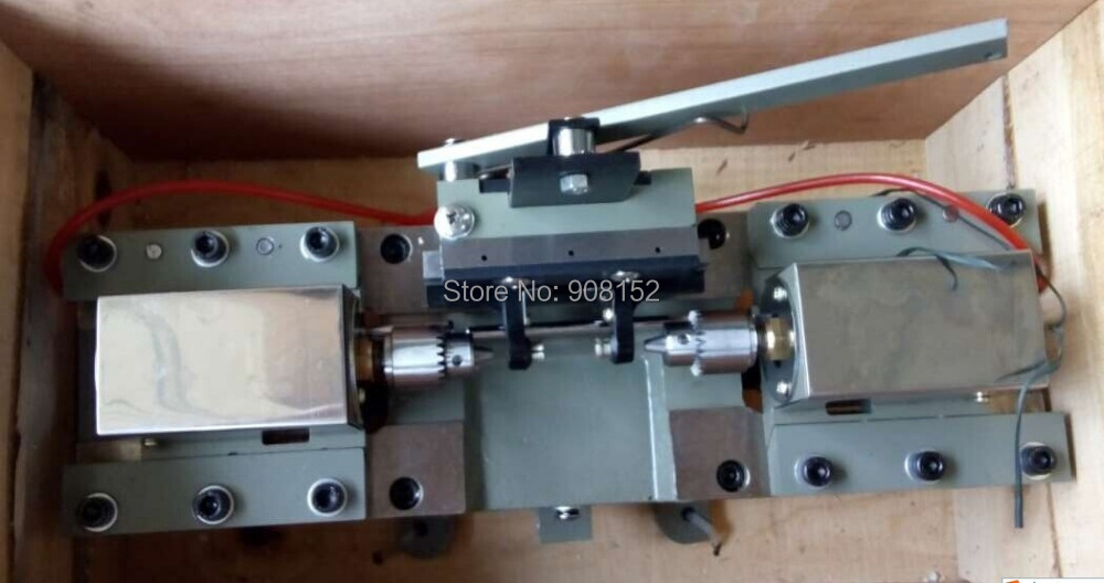 лучшая цена Pearl Agate Amber Beads Double Head Drilling Machine, Two-way drilling machine Jewelry drilling tool & Equipment