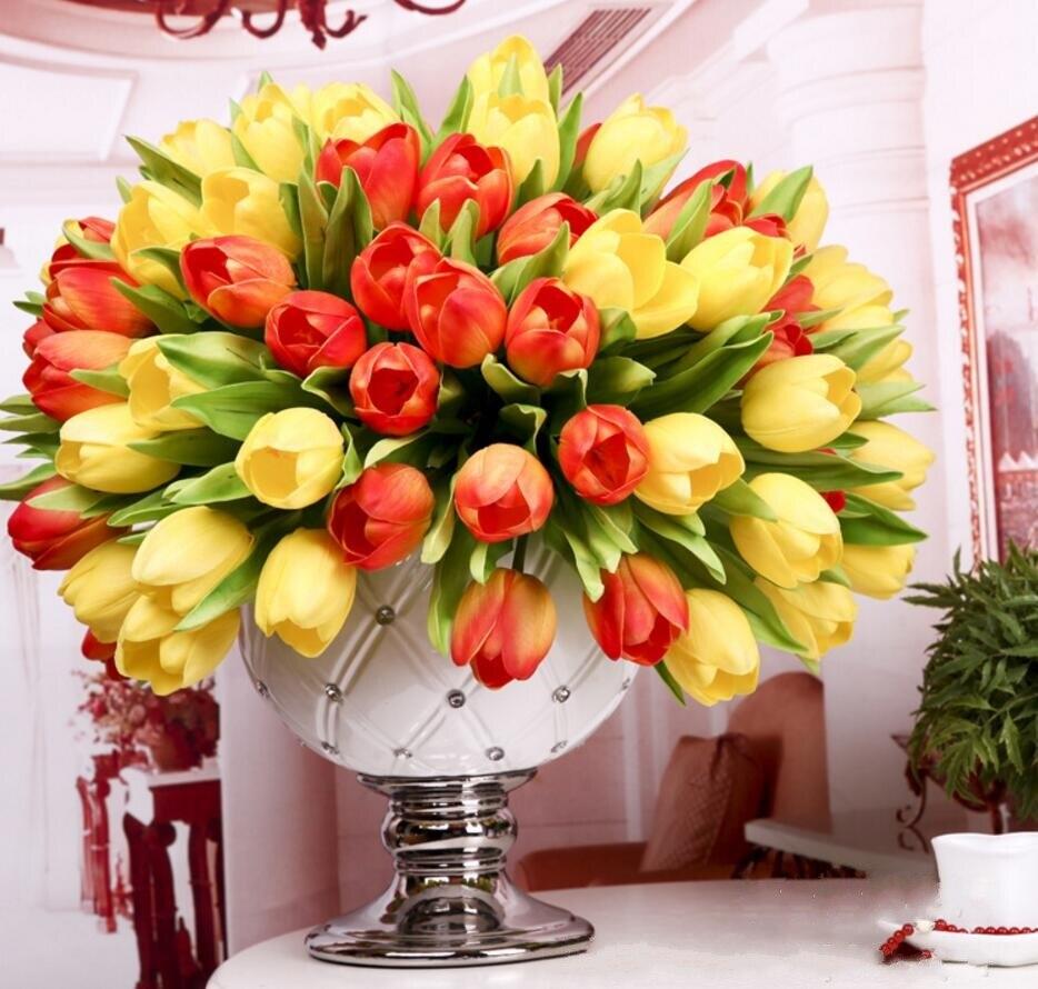 Compare Prices On Artificial Tulip Arrangements- Online ...