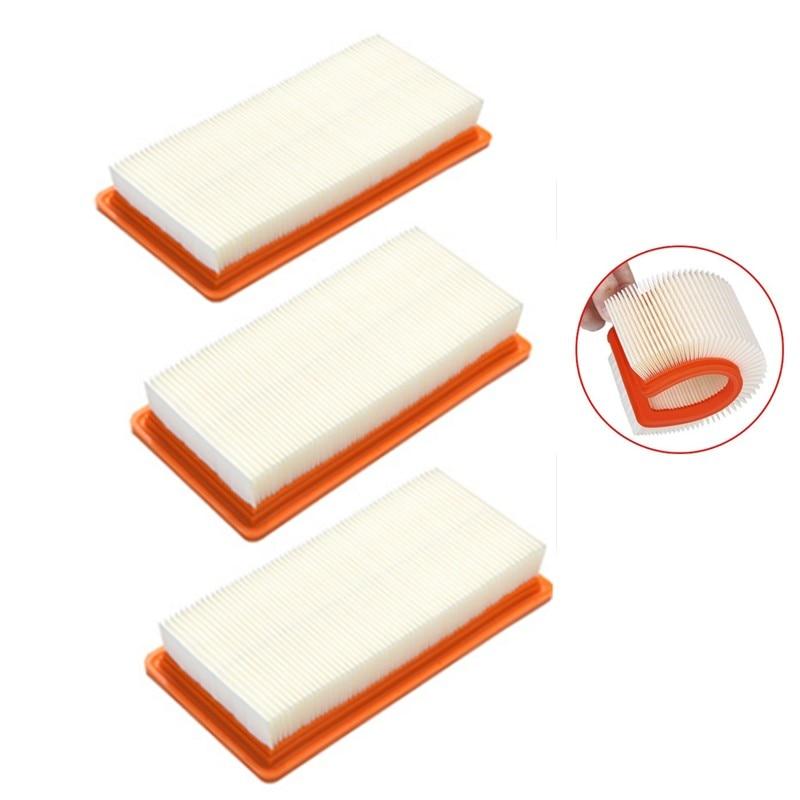 3pcs/lot Washable Karcher Filter For DS5500,DS6000,DS5600,DS5800 Robot Vacuum Cleaner Parts Karcher 6.414-631.0 Hepa Filters
