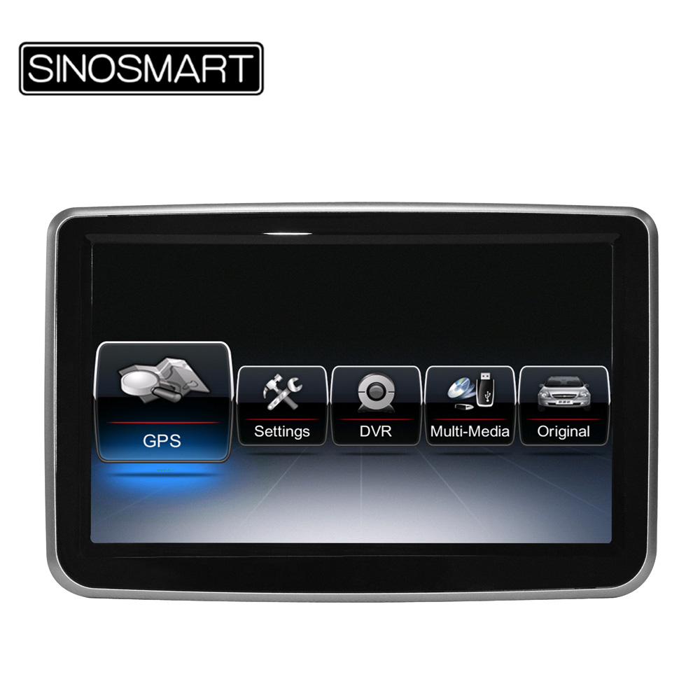 New come the best stable car dvd gps navigation for for Mercedes benz navigation dvd