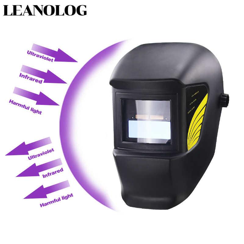 Light แบตเตอรี่ Li DIN11 Solar Auto Darkening หน้ากากเชื่อมไฟฟ้า/หมวกกันน็อก/เครื่องเชื่อมสำหรับอุปกรณ์เชื่อมและ Plasma เครื่องตัด