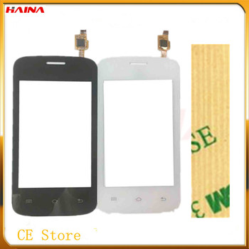 4.0New Sensor Glass For Fly IQ239 Touch Screen Digitizer Touch Replacement Digitizer Black /White Color With 3M +Free Tracking new white black 7 inch touch screen for acer iconia one 7 b1 770 k1j7 digitizer replacement free shipping