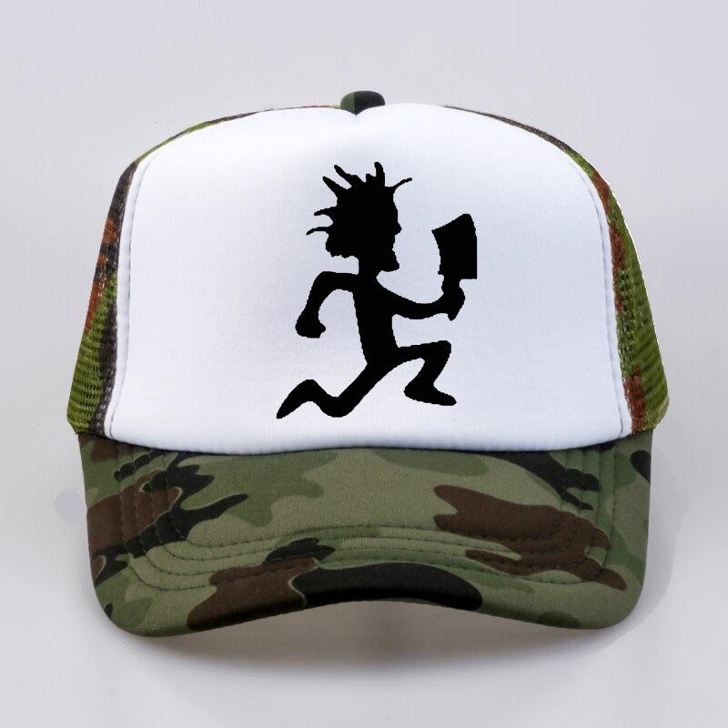 Men Women Trucker Cap Insane Clown Posse Rap metal band Baseball Fan rock cap Cool Summer Mesh Net Dad Hat