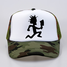 Men Women Trucker Cap Insane Clown Posse Rap metal band Baseball Fan rock cap Cool Summer Mesh Net Dad Hat