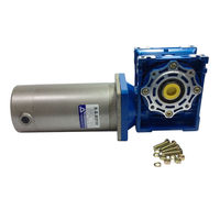 DC 24V 90V Worm Boxing Geared Motor 200W with 040 Gear Head Ration Speed Optional