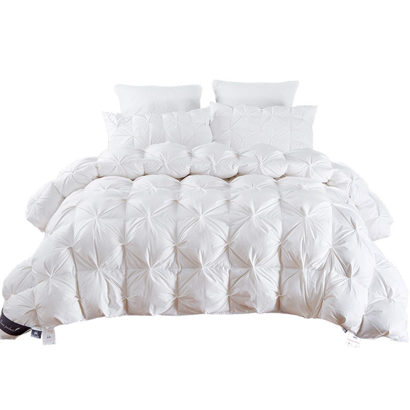 TUTUBIRD 4,9 ~ 2,7 кг Гусь/утка вниз одеяло King queen Twin Размер белый/синий/розовый/коричневый роскошный зимний одеяло наполнитель