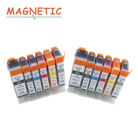 12x Ink Cartridge PGI225 PGI 225 For Canon PIXMA MG6120 MG6220 MG8220 MG8120 MG8120B Printer Full