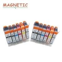 12x Ink Cartridge PGI225 PGI 225 For Canon PIXMA MG6120 MG6220 MG8220 MG8120 MG8120B Printer Full