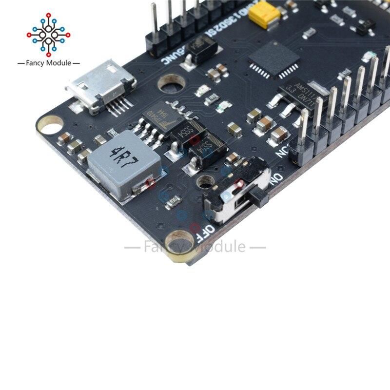 Blue OLED 0.96 inch ESP32 WiFi Bluetooth 18650 Battery CP2012 Development Board