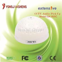 5PCS High fidelity mini hemispheric microphone sound monitor audio monior MIC for CCTV camera voice