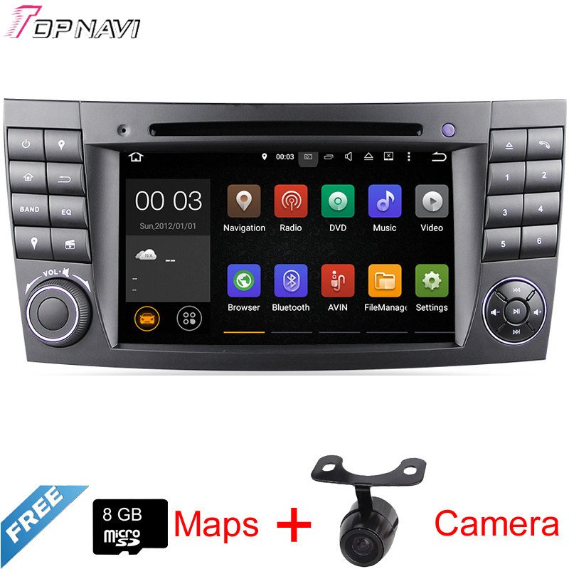 7'' Quad Core Android 5.1 Car GPS For W211(2002/03-2008)/W463(1989/09-2008)/W219(2004/10-2008) With DVD 16GB Flash Mirror Link