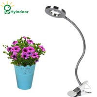 LED Lighting Grow Lamp Plant Growing 10W LED Light Dimmable USB Clip Desk Plants With Adaptable