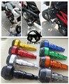 Fs-kt003-or nouvelle moto moto de aluminio en orange gauche et droit Cadre Curseur Anti Crash Protecteur Verter KTM DUKE 125 200 390