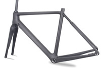 Flat Mount Disc Brake Type MIRACLE New Design Cyclocross Carbon Bicycle Frame Size 49cm 52cm 54cm
