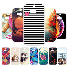 Vanveet Case For HTC One M8 M8s Case Silicone 3D Soft Back Cover For HTC One 2 One M8 M8s M8x 5.0 inch Coque Bags Capa Bags стоимость