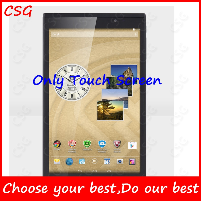 Only white in stock 8 Touch For Prestigio MultiPad Consul 7008 4G PMT7008_4G Tablet touch screen panel Digitizer Glass Sensor