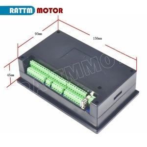 Image 3 - 4 eksen RMHV3.1 500KHz 4.3 inç PLC çevrimdışı denetleyici MACH3 sistemi yönlendirici torna freze makinesi bilgisayar olmadan