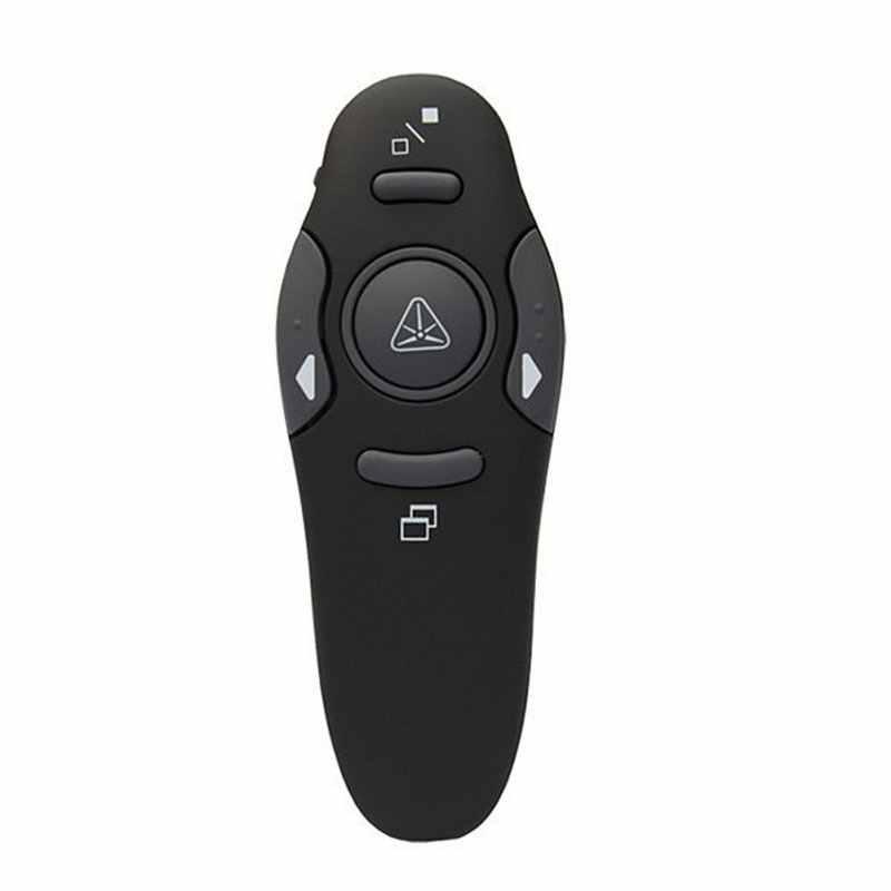 חדש לגמרי אלחוטי מגיש לייזר מצביעי מצגת USB שלט רחוק