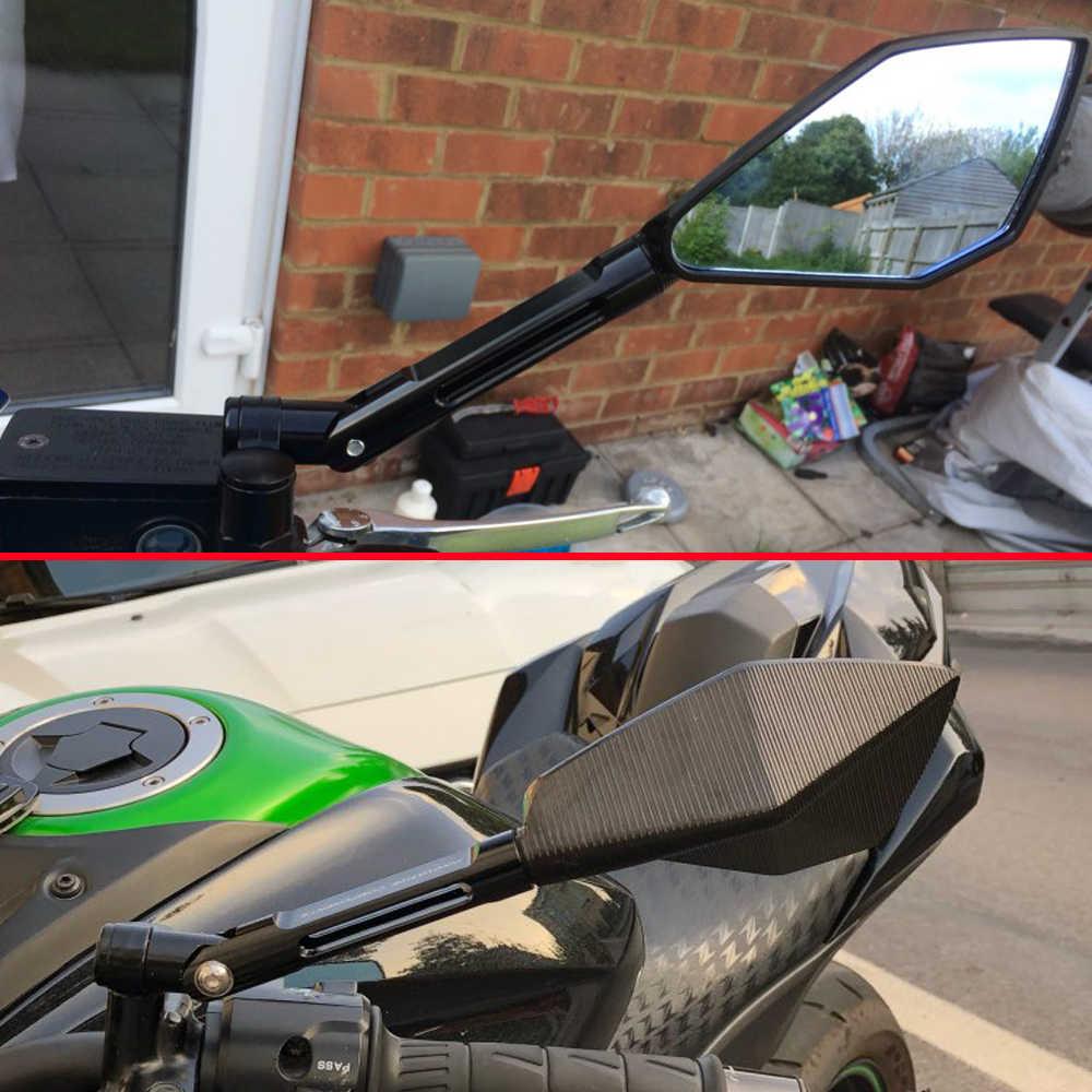 Полный ЧПУ Алюминий Мотоцикл зеркала заднего вида Зеркало для слепой зоны зеркало заднего вида для YAMAHA XMAX 125/250/300/400 железо Max NMAX 125 R120