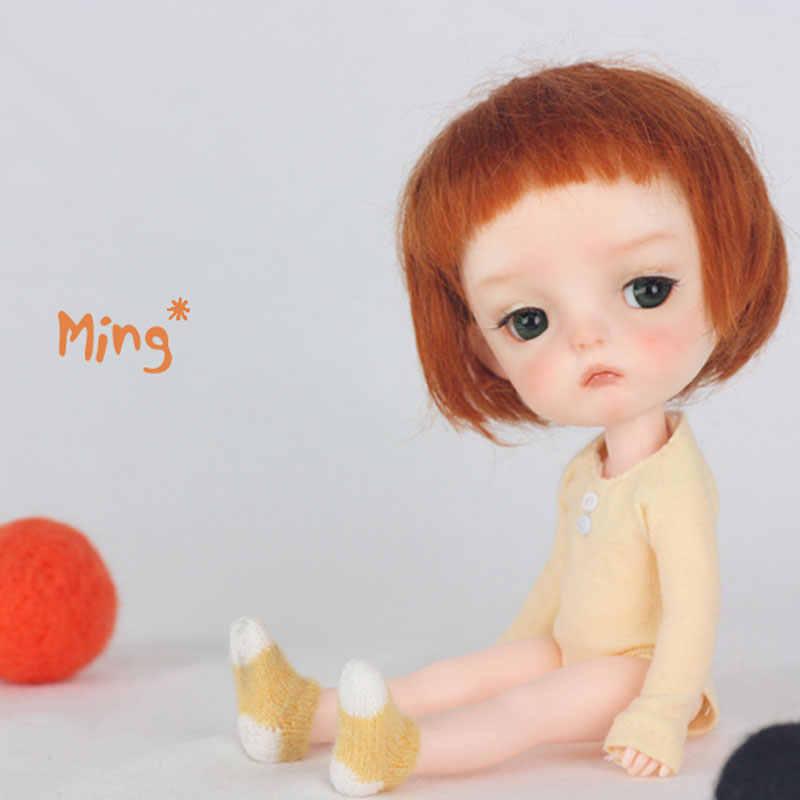 1/8  Ming BJD Doll BJD/SD Fashion LOVELY model Resin Joint Doll For Baby Girl Birthday Gift random eyes