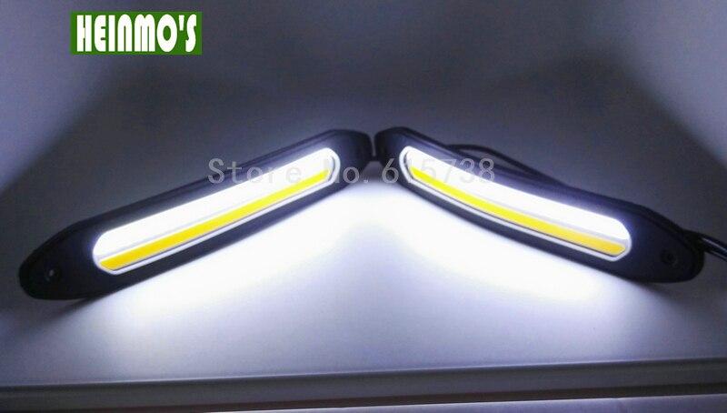 Bil kørelys og blinklys foran Flexibel DRL bildagslampe 12V For Ford - Billygter - Foto 5